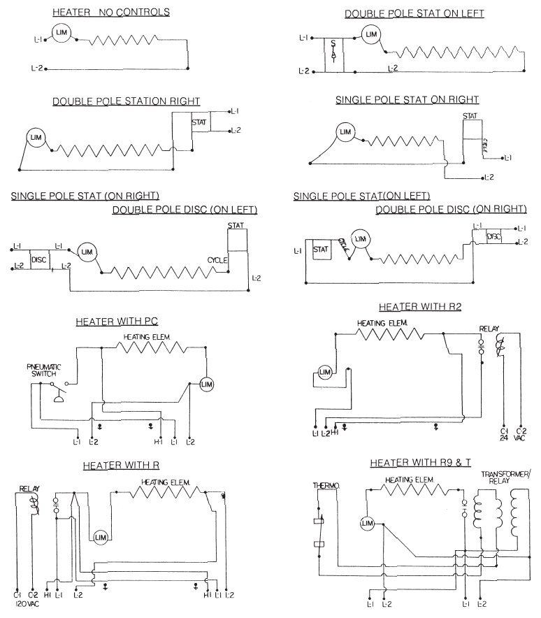 Wire diagram for multiple baseboard heaters asfbconference2016 Image collections